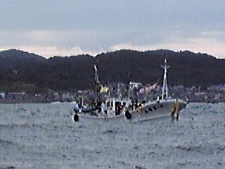 津軽海峡横断リレー泳