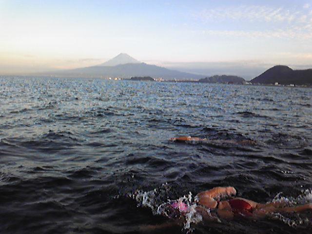 久しぶりの海練習