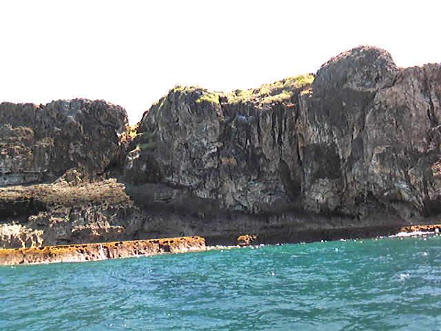 続いて禁断の島の反対側